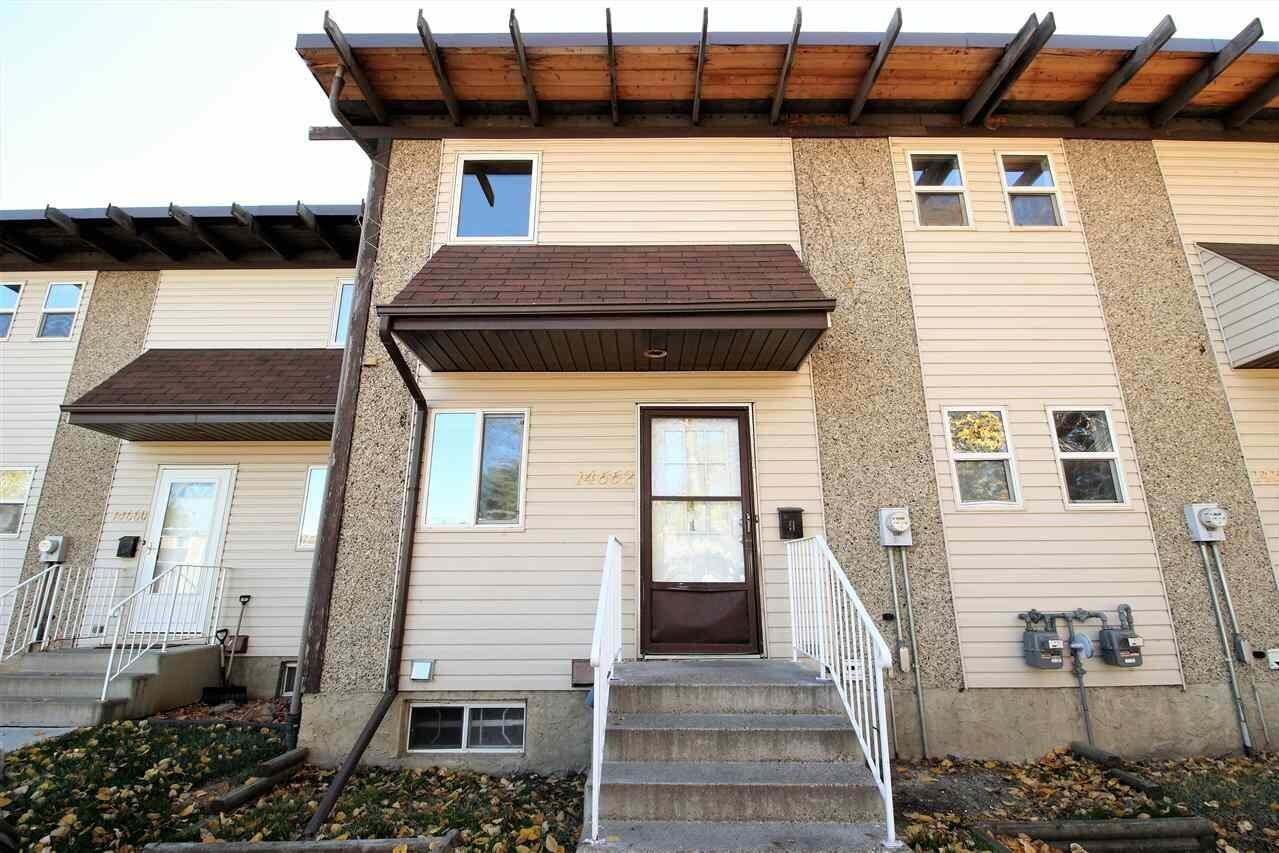 Townhouse for sale at 14662 121 St NW Edmonton Alberta - MLS: E4218125