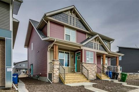 Townhouse for sale at 14668 1 St Northeast Calgary Alberta - MLS: C4241189