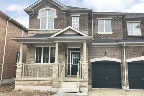 Townhouse for sale at 1467 Pratt Hts Milton Ontario - MLS: W4494350