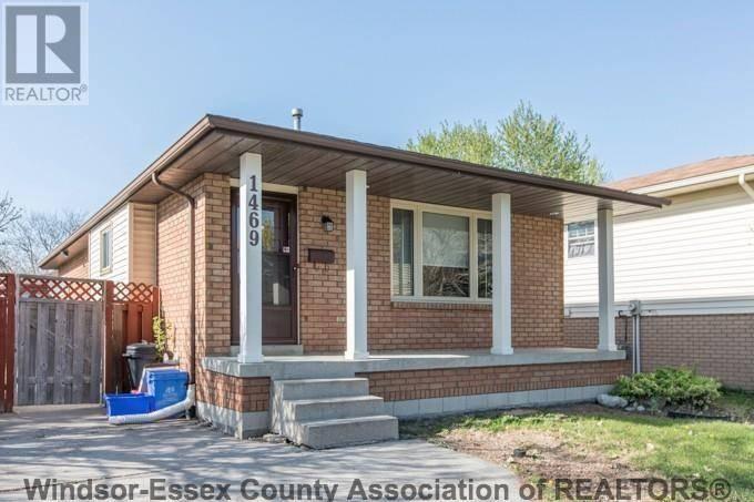 House for rent at 1469 Azalia Cres Windsor Ontario - MLS: 19028018