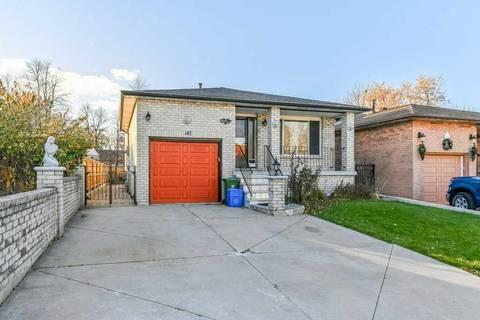 House for sale at 147 Gardiner Dr Hamilton Ontario - MLS: X4644791