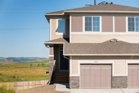 Townhouse for sale at 147 Heritage Ht Cochrane Alberta - MLS: A1026295