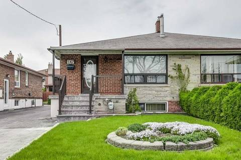 Townhouse for sale at 147 Lomar Dr Toronto Ontario - MLS: W4463140