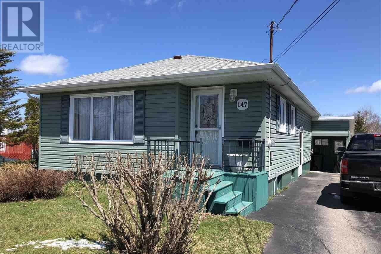 House for sale at 147 Maple Ave Glace Bay Nova Scotia - MLS: 202003838