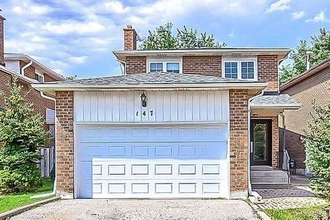 House for sale at 147 Stephenson Cres Richmond Hill Ontario - MLS: N4503121