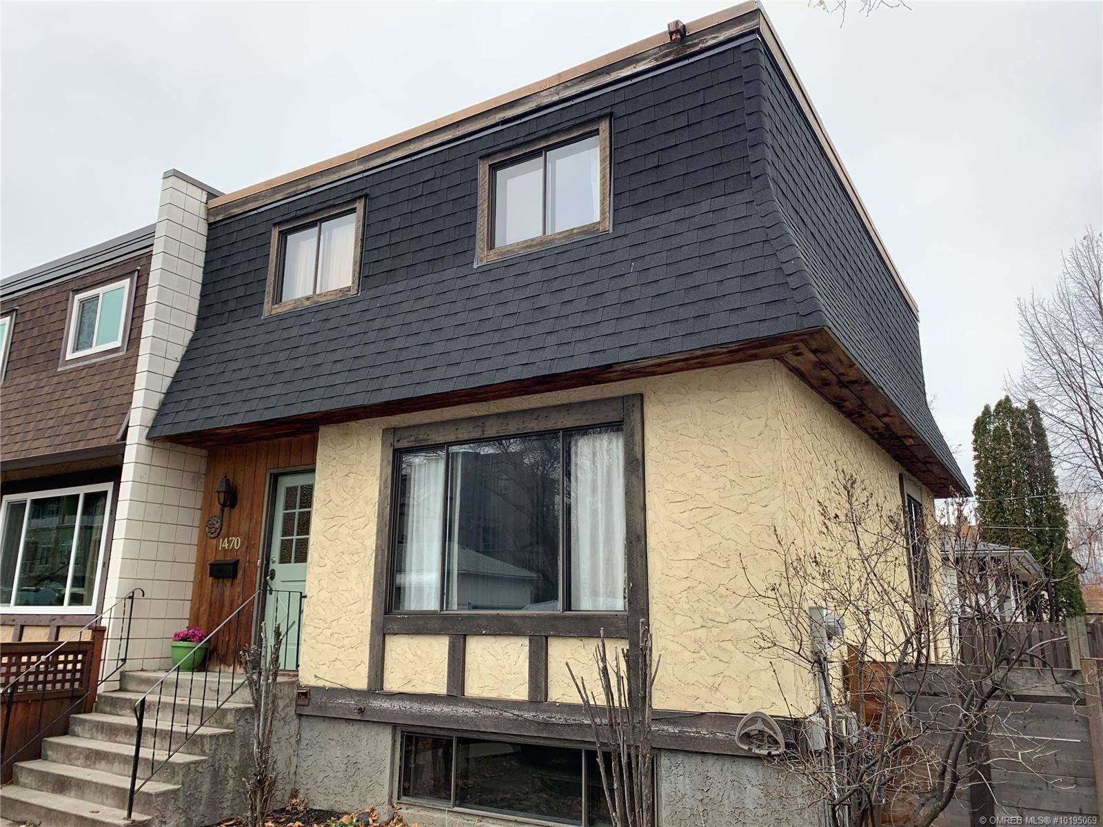 Townhouse for sale at 1470 Graham St Kelowna British Columbia - MLS: 10195069