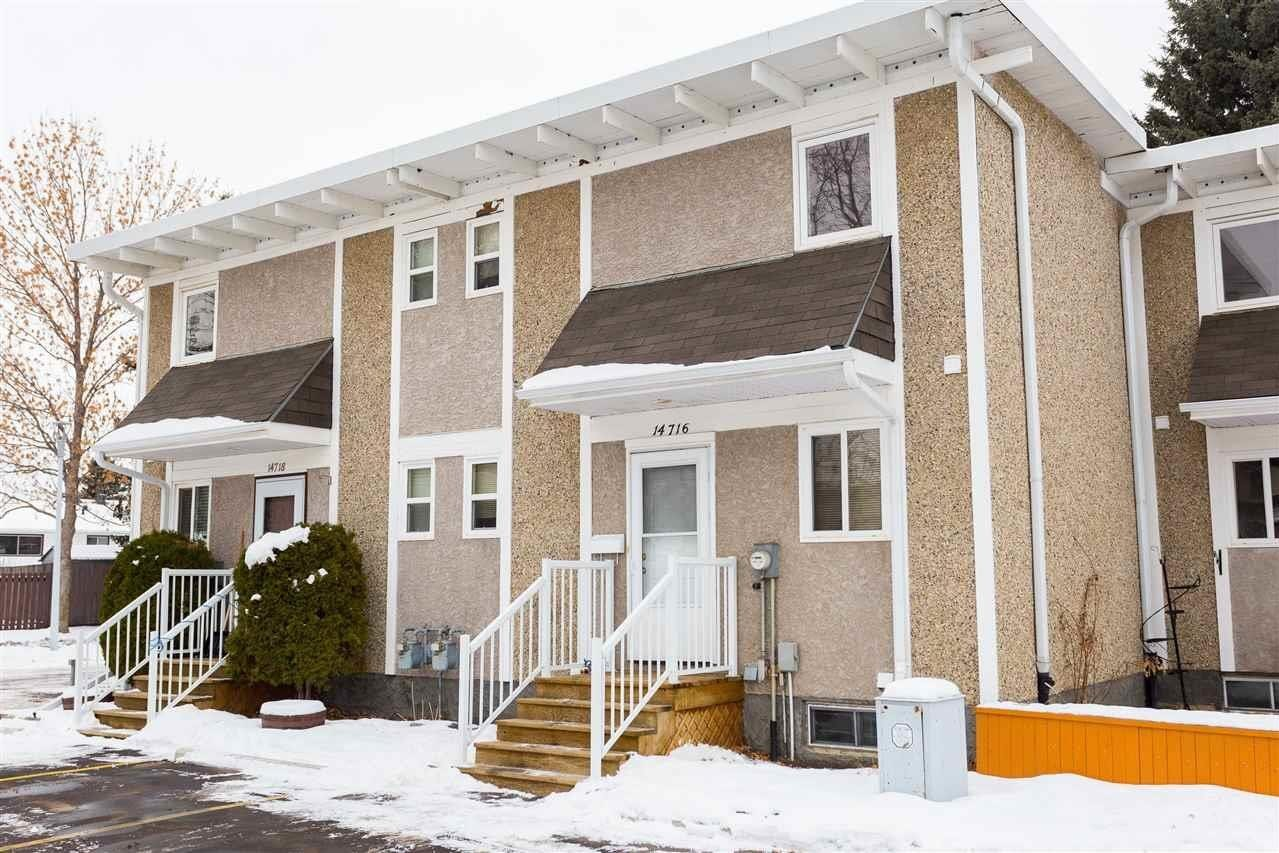 Townhouse for sale at 14716 121 St NW Edmonton Alberta - MLS: E4221717