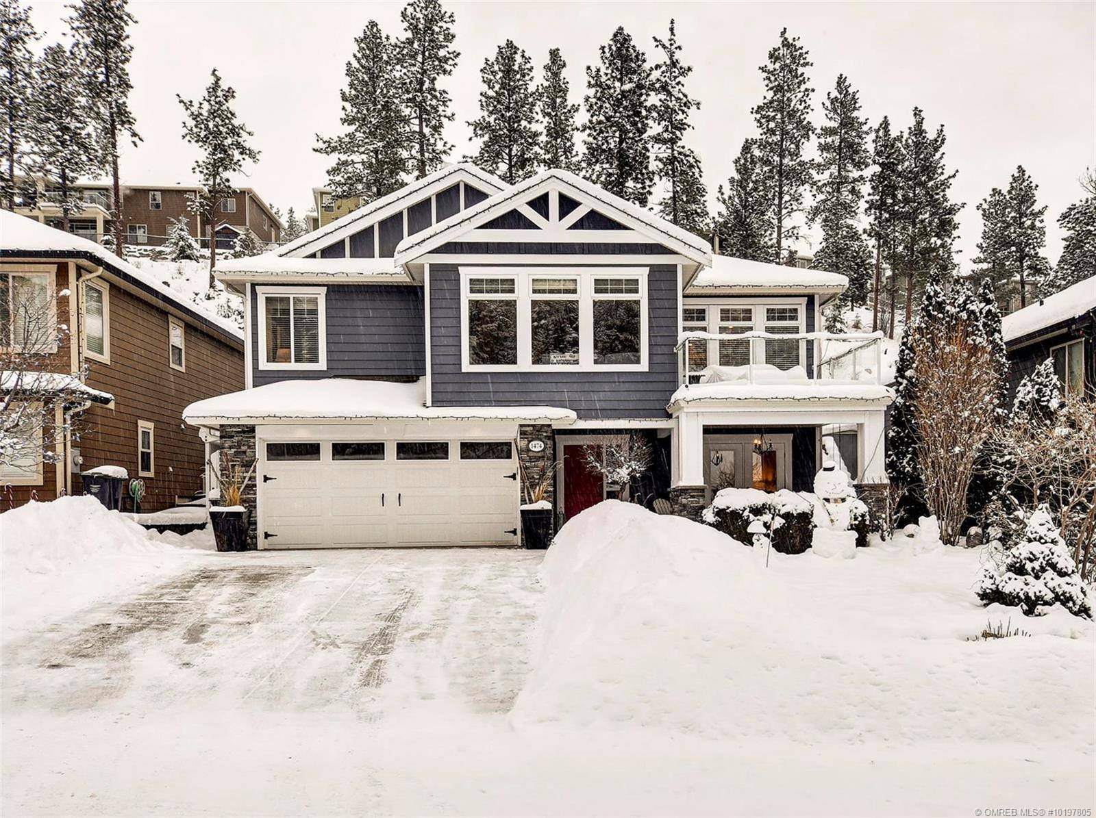 House for sale at 1474 Rosewood Dr West Kelowna British Columbia - MLS: 10197805