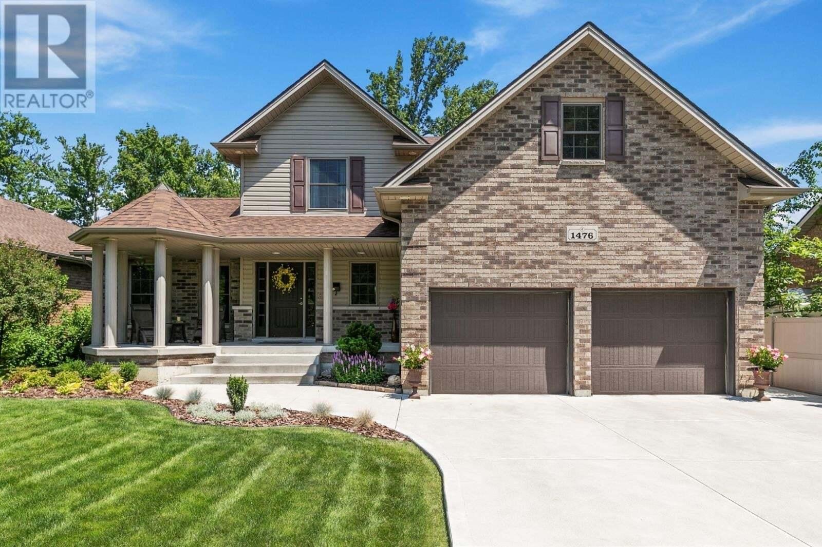 House for sale at 1476 Bouffard  Lasalle Ontario - MLS: 20008073