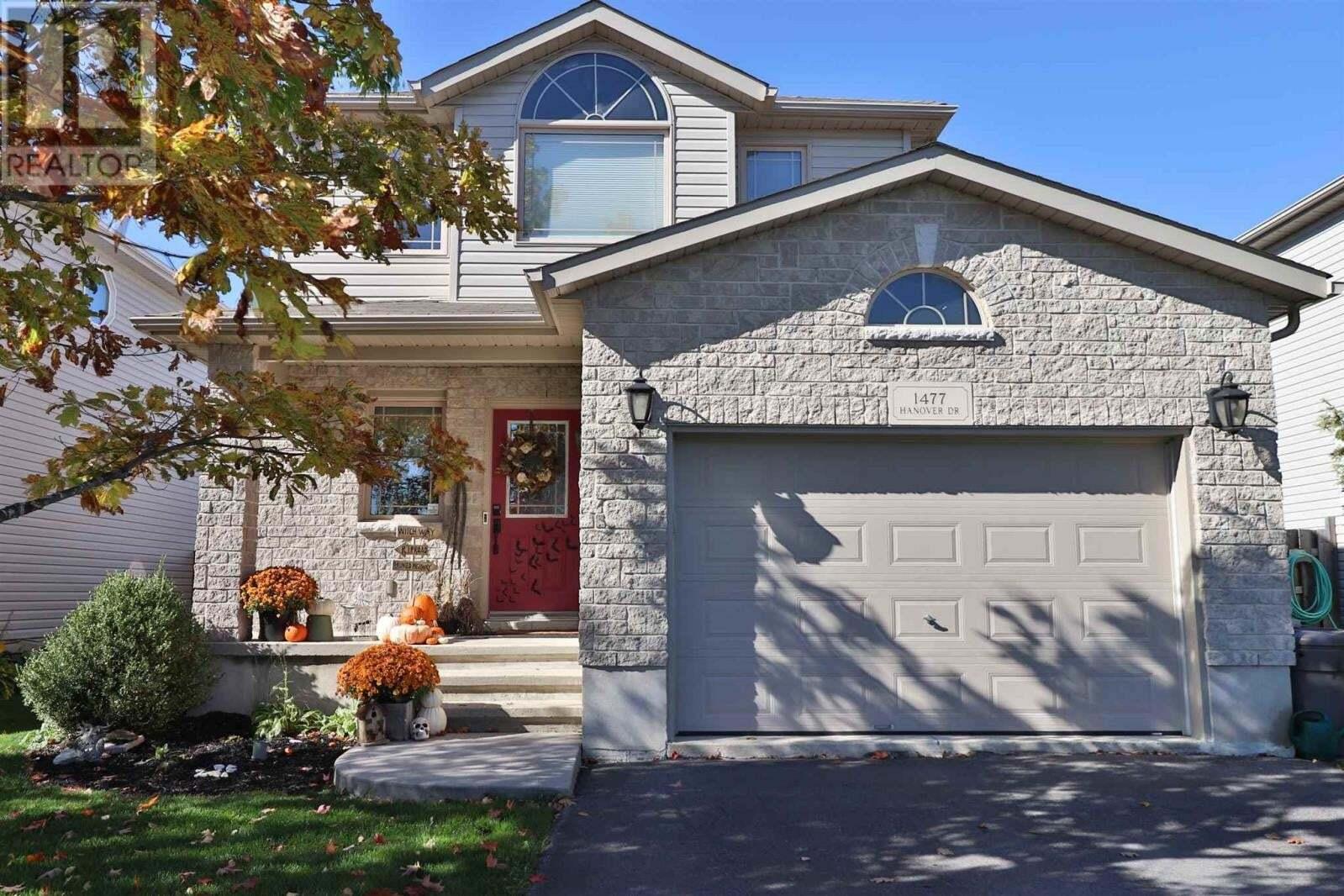 House for sale at 1477 Hanover Dr Kingston Ontario - MLS: K20006080