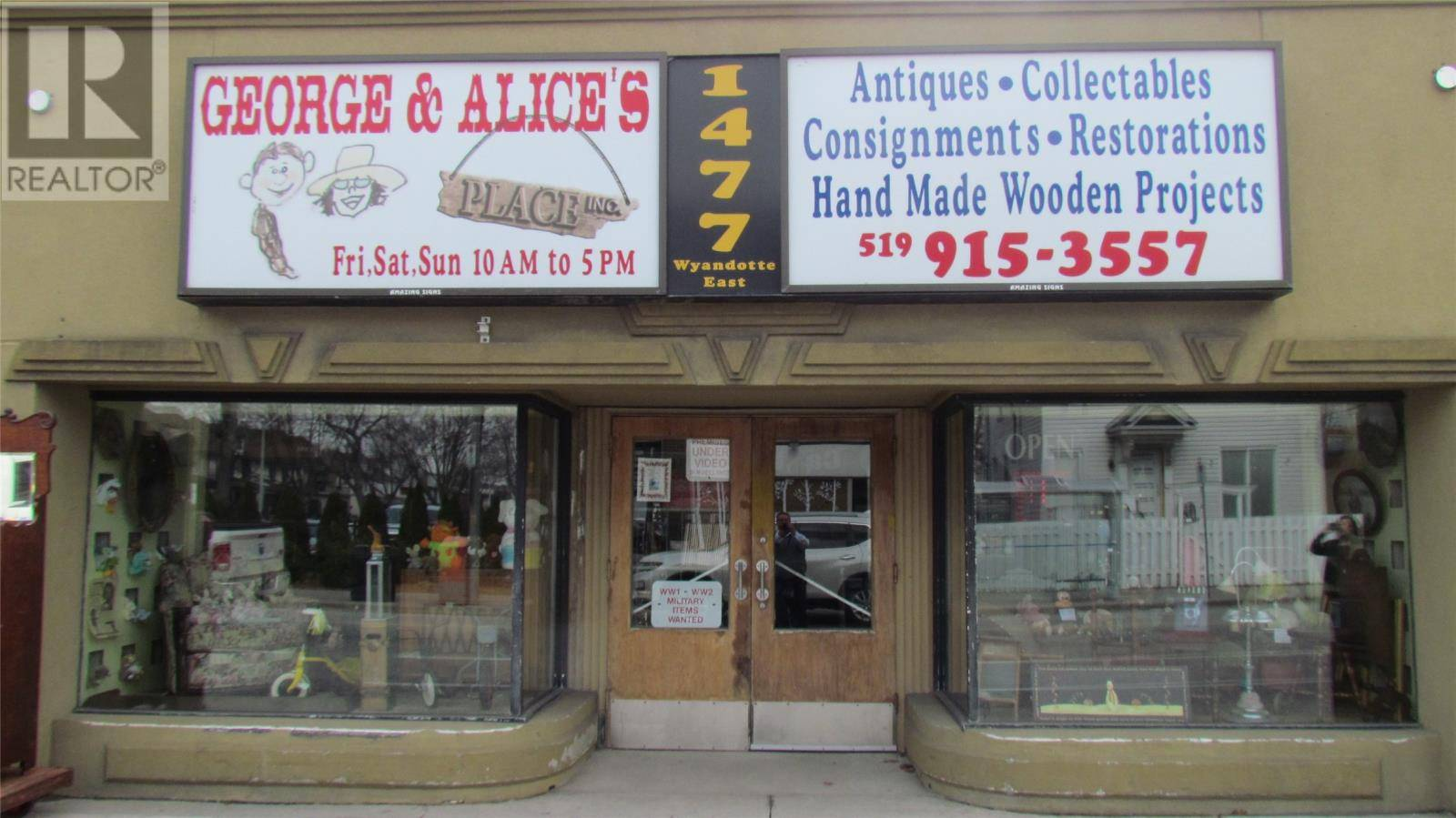 Commercial property for sale at 1477 Wyandotte St East Windsor Ontario - MLS: 20003106