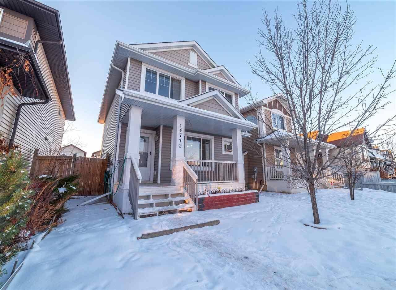 House for sale at 14772 140 St Nw Edmonton Alberta - MLS: E4182809
