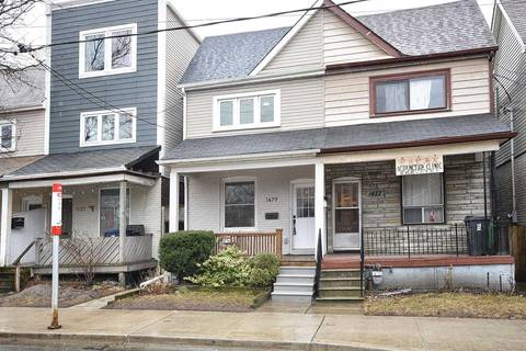 Townhouse for sale at 1479 Queen St Toronto Ontario - MLS: E4730586