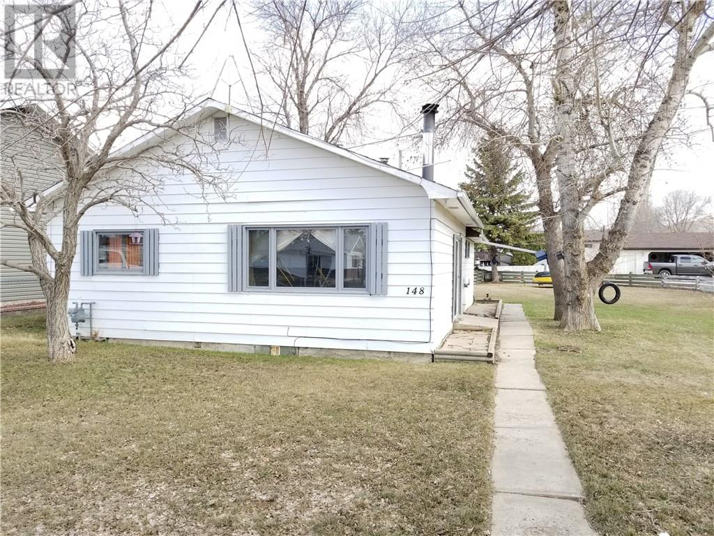 For Sale: 148 4th Street, Drumheller, AB | 2 Bed, 1 Bath House for $139,000. See 10 photos!