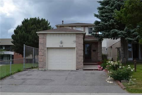 House for sale at 148 Ingleton Blvd Toronto Ontario - MLS: E4497781