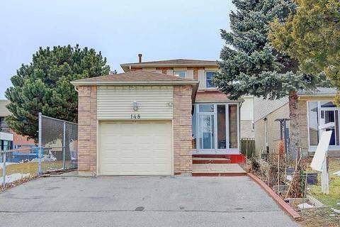House for sale at 148 Ingleton Blvd Toronto Ontario - MLS: E4712579