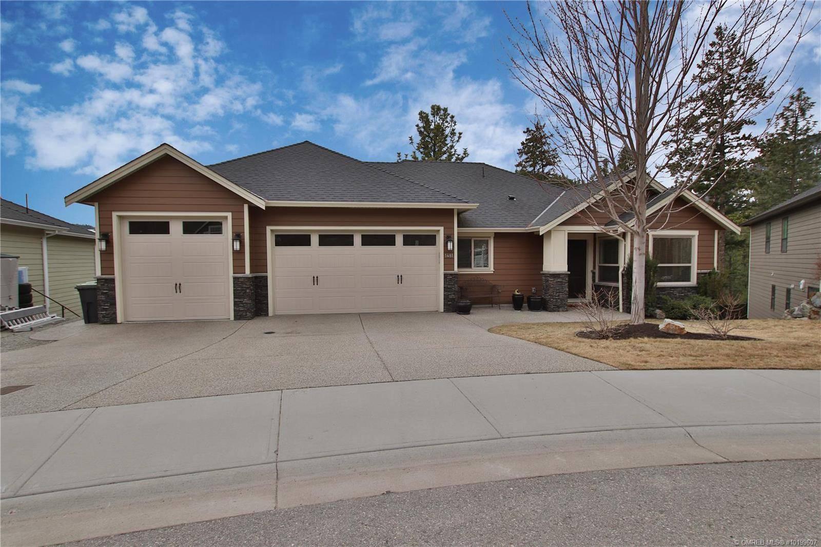 House for sale at 1481 Roseridge Ct West Kelowna British Columbia - MLS: 10199607