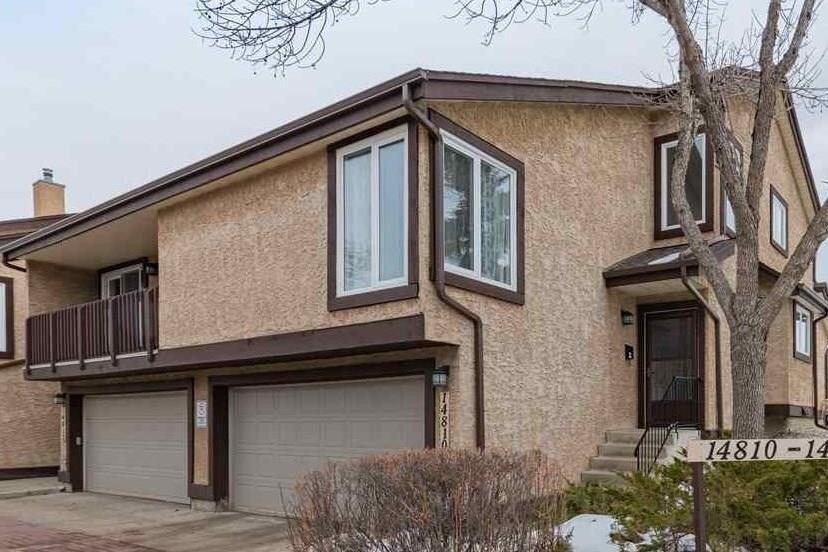 Townhouse for sale at 14810 43 Av NW Edmonton Alberta - MLS: E4224409