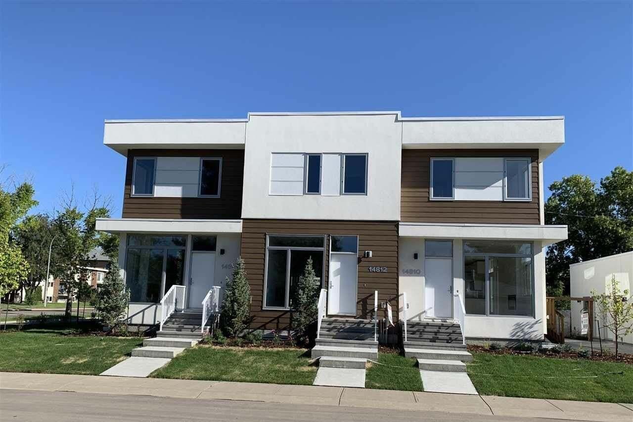 Townhouse for sale at 14812 98 Av NW Edmonton Alberta - MLS: E4194021