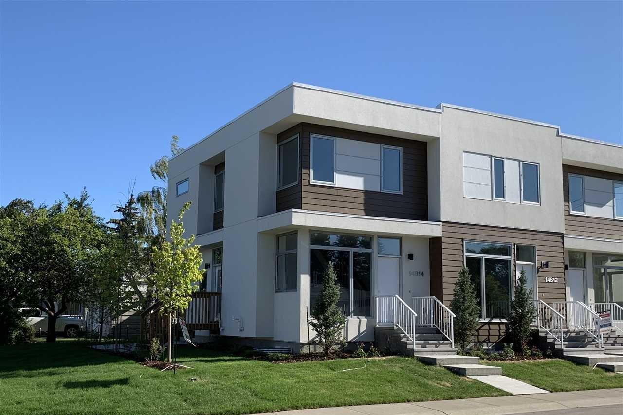 Townhouse for sale at 14814 98 Av NW Edmonton Alberta - MLS: E4194022