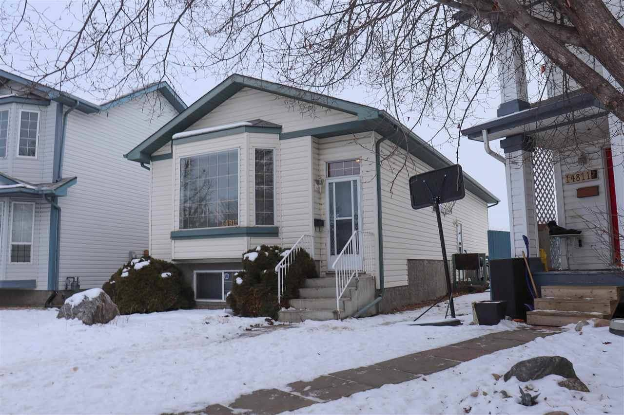 House for sale at 14815 47 St Nw Edmonton Alberta - MLS: E4182766