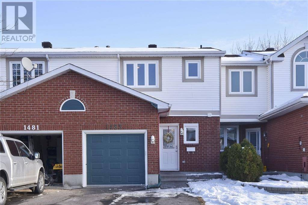 Townhouse for sale at 1483 Corsham Ave Ottawa Ontario - MLS: 1175888