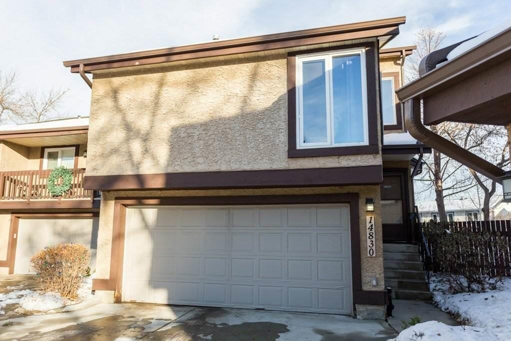 Townhouse for sale at 14830 43 Av NW Edmonton Alberta - MLS: E4222749