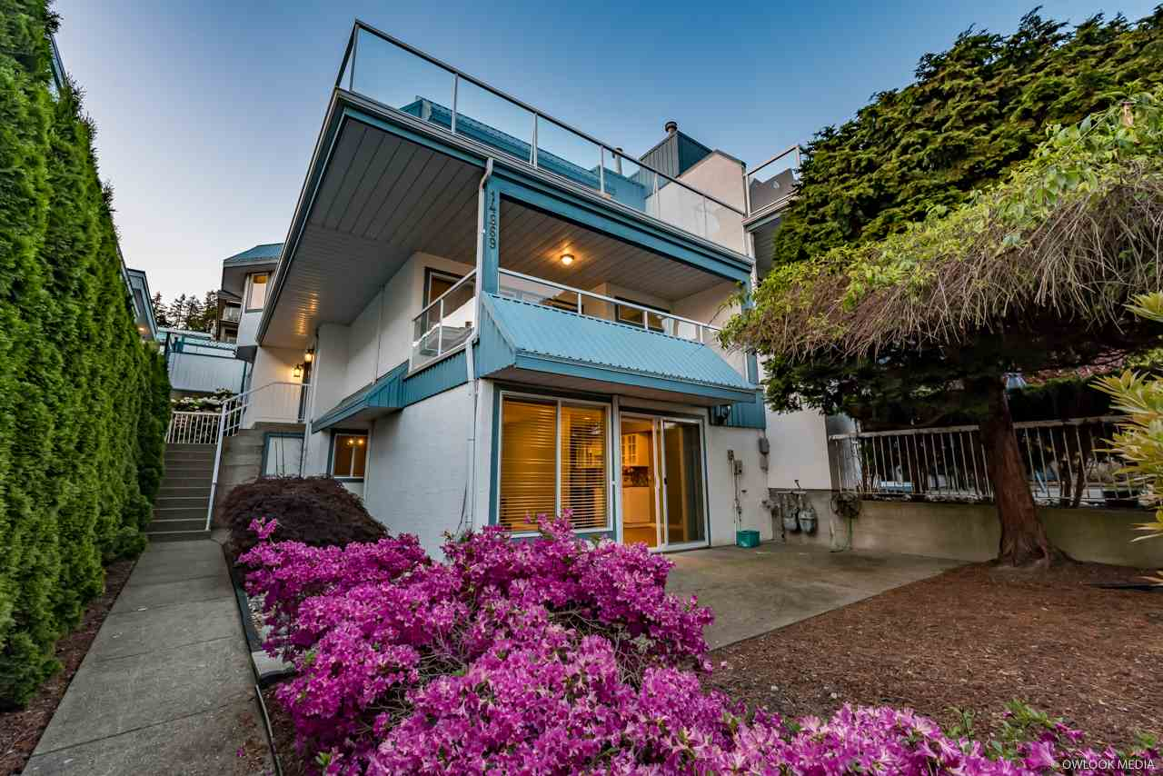 For Sale: 14869 Buena Vista Avenue, White Rock, BC | 4 Bed, 4 Bath Townhouse for $1,649,800. See 20 photos!