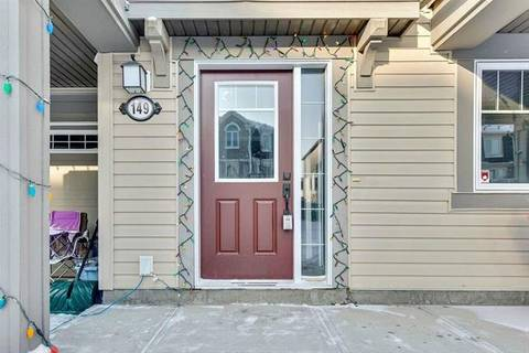 Townhouse for sale at 149 Windstone Pk Southwest Airdrie Alberta - MLS: C4292340