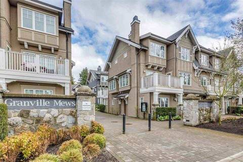 Townhouse for sale at 1491 Tilney Me Vancouver British Columbia - MLS: R2238005