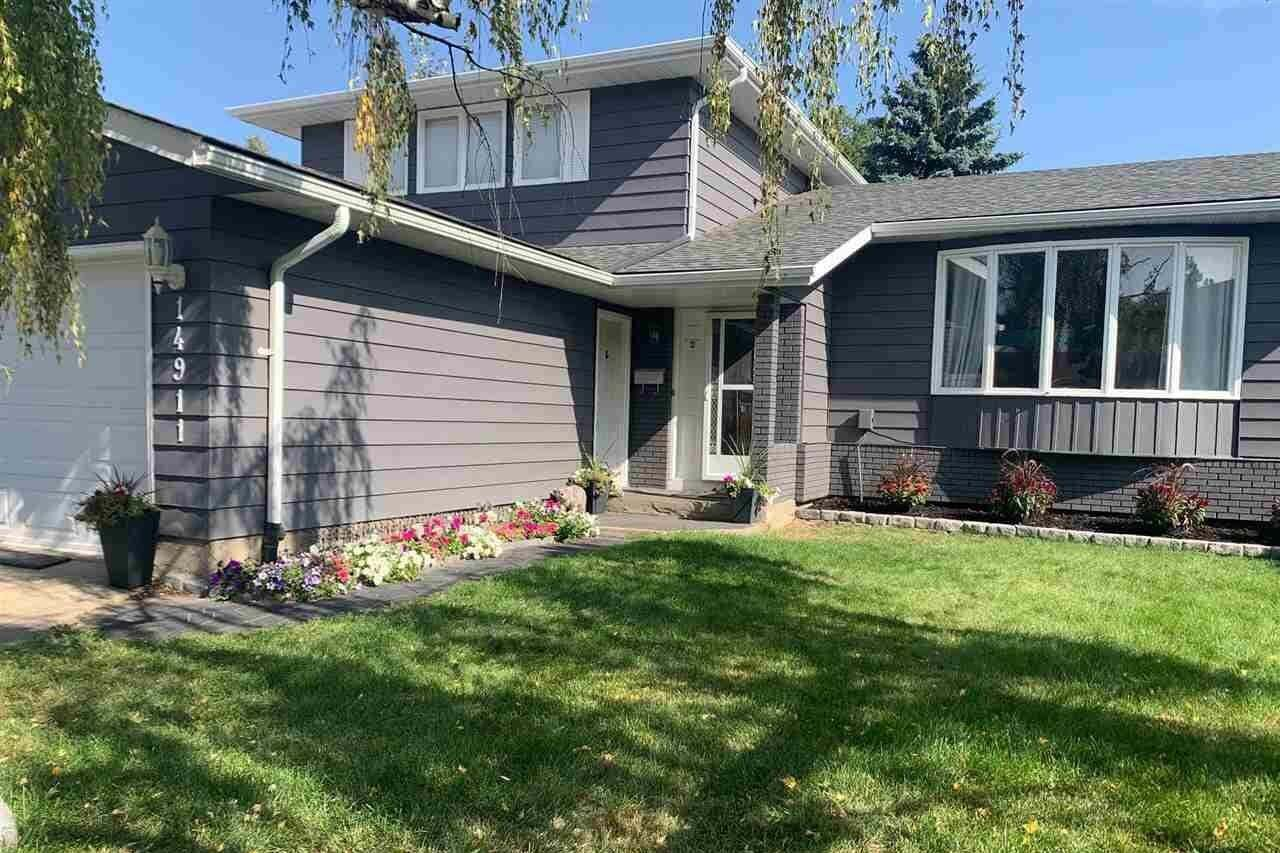 House for sale at 14911 54a St NW Edmonton Alberta - MLS: E4214324