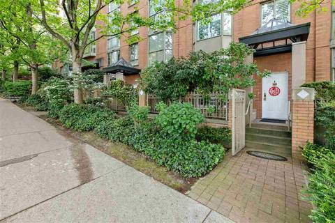Townhouse for sale at 1492 Hornby St Vancouver British Columbia - MLS: R2370412