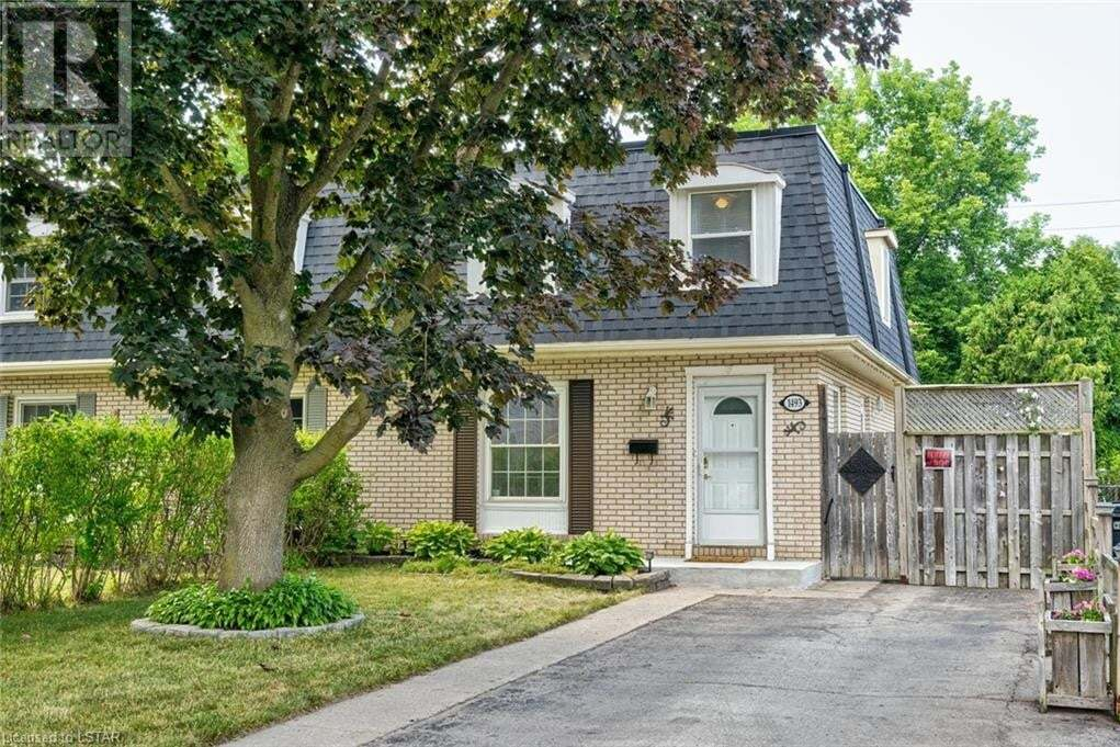 Home for sale at 1493 Perth Ave London Ontario - MLS: 273100