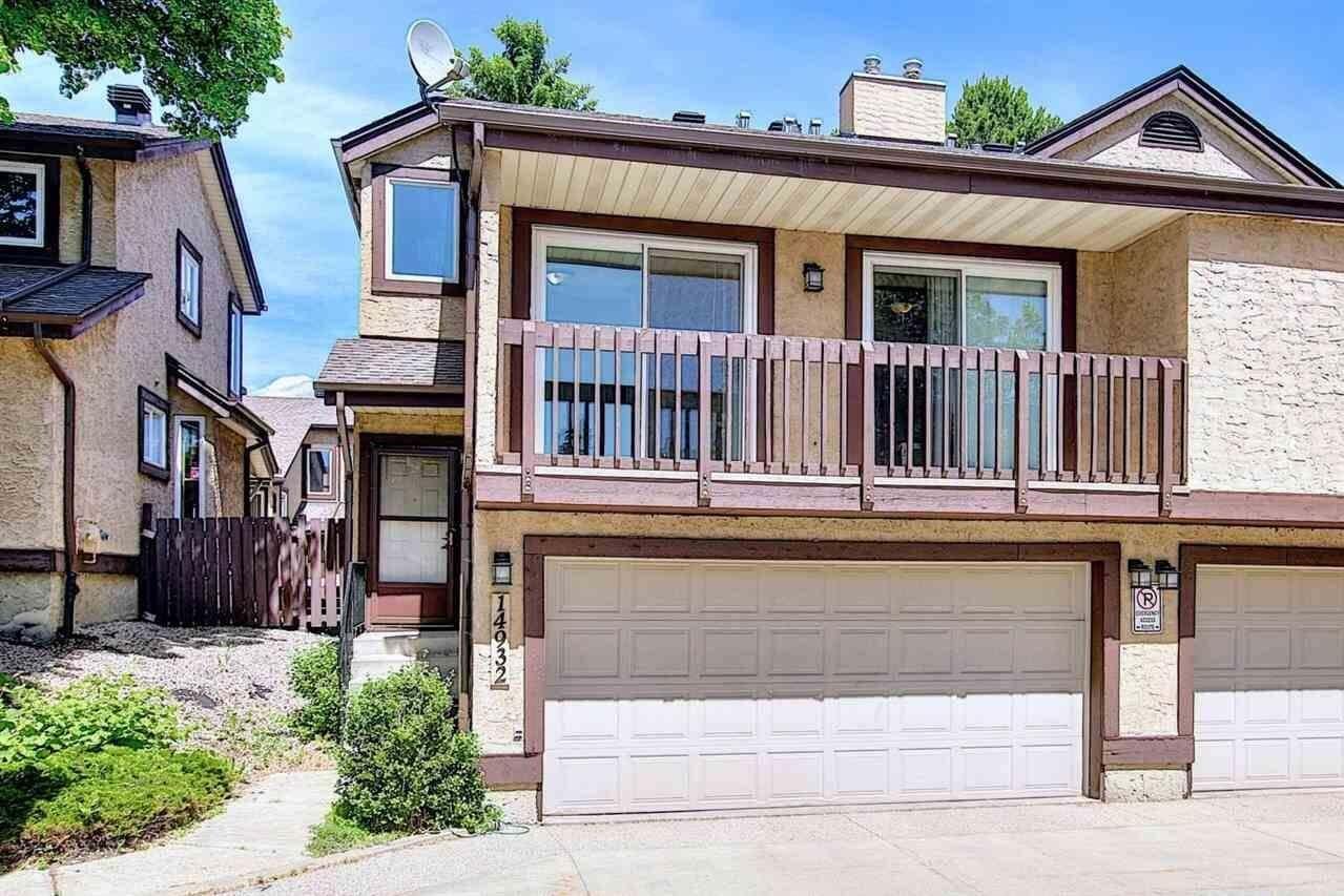 Townhouse for sale at 14932 43 Av NW Edmonton Alberta - MLS: E4204015