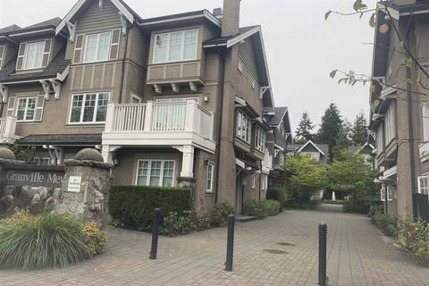 Townhouse for sale at 1497 Tilney Me Vancouver British Columbia - MLS: R2411825