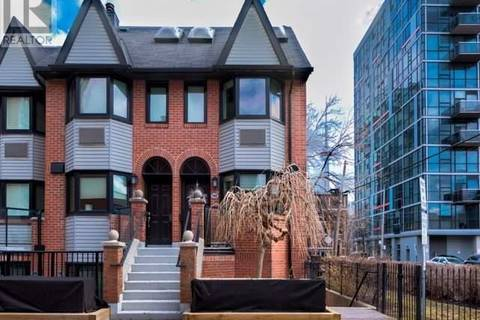 Townhouse for sale at 570 Wellington St West Unit 14A Toronto Ontario - MLS: C4385857