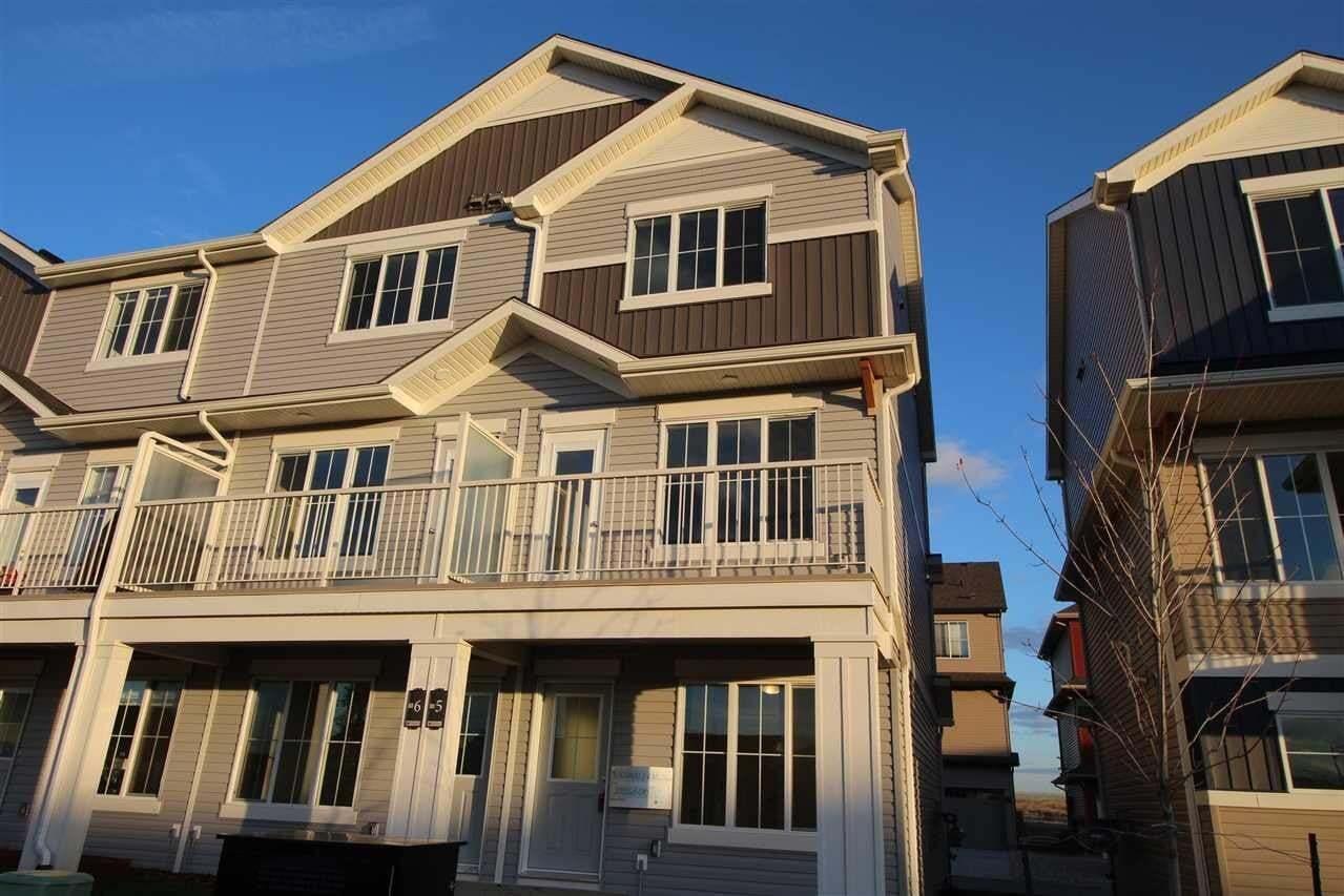 Townhouse for sale at 1110 Daniels Li SW Unit 15 Edmonton Alberta - MLS: E4204738