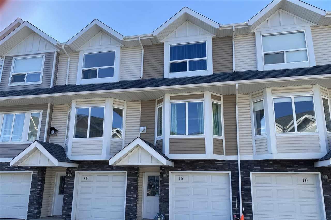 Townhouse for sale at 13215 153 Av NW Unit 15 Edmonton Alberta - MLS: E4220487