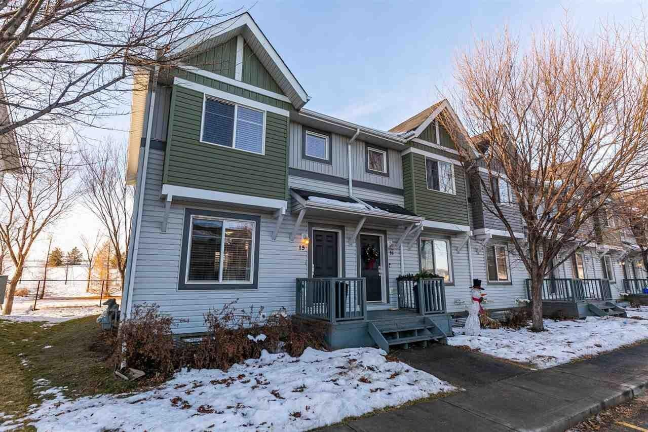 Townhouse for sale at 1404 Hermitage Rd NW Unit 15 Edmonton Alberta - MLS: E4205782