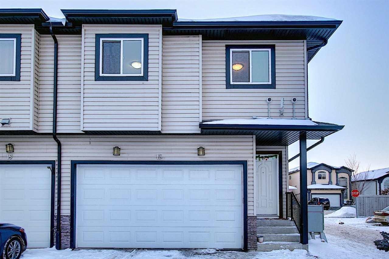 Townhouse for sale at 1820 34 Av NW Unit 15 Edmonton Alberta - MLS: E4221616