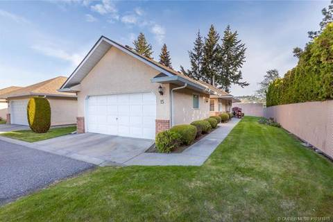 Townhouse for sale at 1886 Parkview Cres Unit 15 Kelowna British Columbia - MLS: 10181915