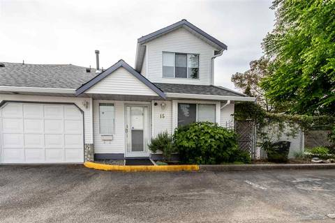 Townhouse for sale at 19171 Mitchell Rd Unit 15 Pitt Meadows British Columbia - MLS: R2377940