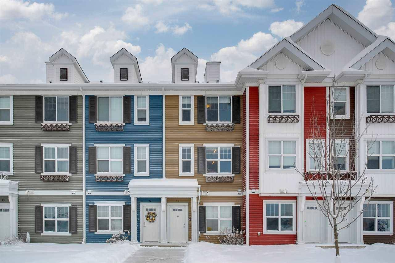 Townhouse for sale at 2803 James Mowatt Tr Sw Unit 15 Edmonton Alberta - MLS: E4184909