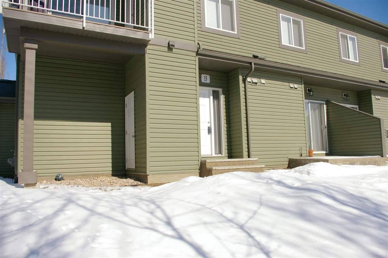 Townhouse for sale at 30 Oak Vista Dr Unit 15 St. Albert Alberta - MLS: E4193145