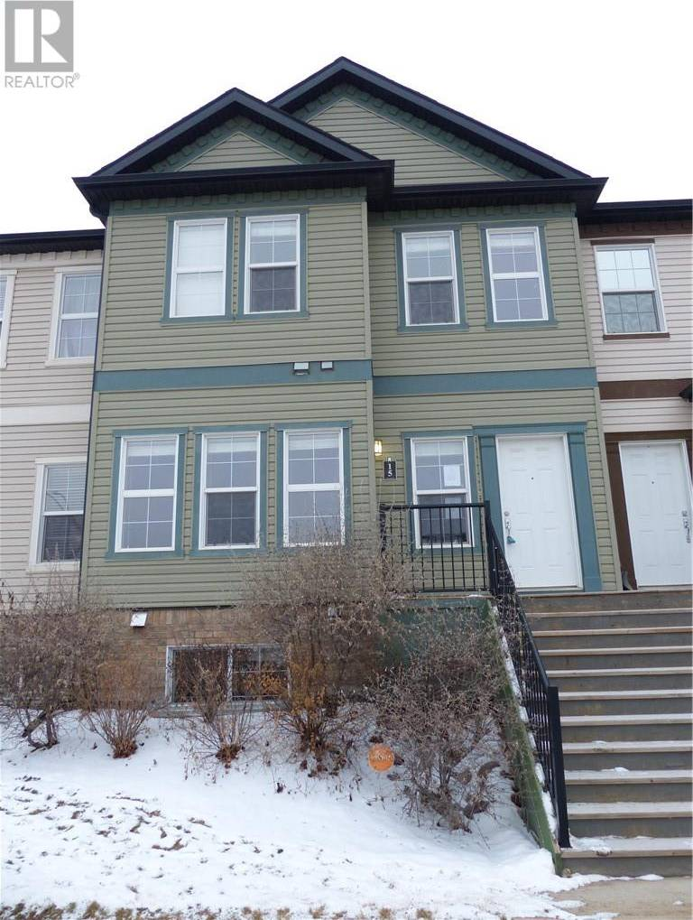 Townhouse for sale at 300 Sparrow Hawk Dr Unit 15 Fort Mcmurray Alberta - MLS: fm0184558