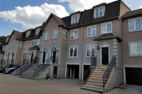 Townhouse for sale at 3180 Bayview Ave Unit 15 Toronto Ontario - MLS: C4576458