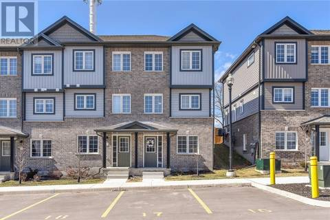 Townhouse for sale at 350 Dundas St South Unit 15 Cambridge Ontario - MLS: 30724255
