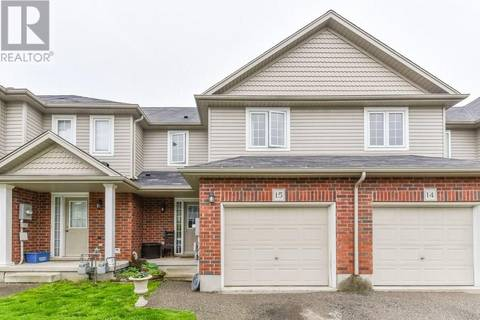 Townhouse for sale at 468 Doon South Dr Unit 15 Kitchener Ontario - MLS: 30739398