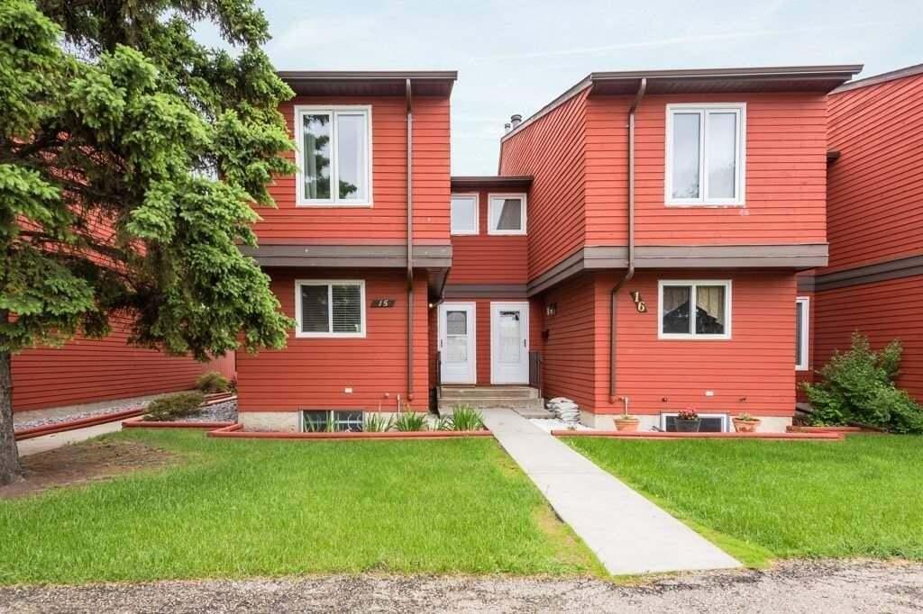 Townhouse for sale at 4707 126 Av NW Unit 15 Edmonton Alberta - MLS: E4202820