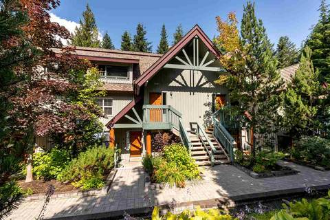Townhouse for sale at 4890 Painted Cliff Rd Unit 15 Whistler British Columbia - MLS: R2394972